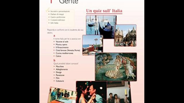 Download Contatti 2 Italian Intermediate Course 2nd Edition revised: Coursebook and CDs PDF Free