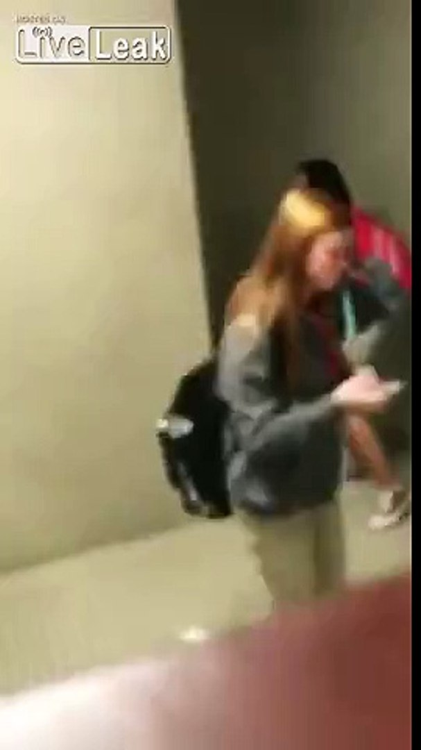 Girl Gets Knocked Out