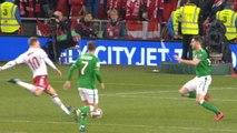 Qualifications Coupe du Monde 2018 - Irlande / Danemark - Triplé d'Erisken qui martyrise une nouvelle fois la lucarne