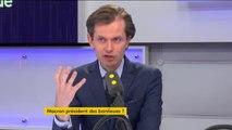 """Tout est politique. Guillaume Larrivé demande une politique de la ville """"égale pour l'ensemble des Français"""""""