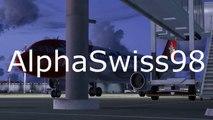 Flight Simulator X: Rennes-Orléans   #2 Carrière suivie - Fs Passenger   Avro RJ 85 City Jet  FR/HD