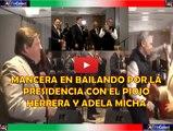 Mancera en bailando por la Presidencia con el Piojo Herrera y Adela Micha
