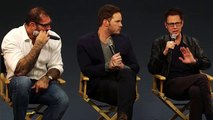 Guardians of the Galaxy Cast Interview with Chris Pratt, Dave Bautista and James Gunn