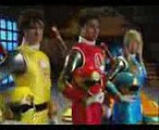 Power Rangers Ninja Storm vs Wild Force  Team Up [Opening]