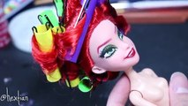 How to make a Poison Ivy Doll [ GOTHAM CITY SIRENS ]