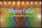 Mariah Carey Whenever You Call Karaoke Version