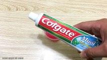 Hand Soap Colgate and Sugar Slime! No Glue Slime with Hand Soap Colgate and Sugar! No Bora