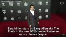 Did Ezra Miller Improv Parts Of Justice League?