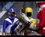 Power Rangers Lightspeed Rescue - Power Rangers vs Titanium Ranger  V-Lancers Debut