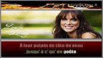 Lynda Lemay - Les maudits Français KARAOKE / INSTRUMENTAL