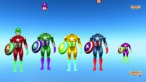 Superheros wrong Head match game finger family nursery rhymes for kids - Superheros Guess the match