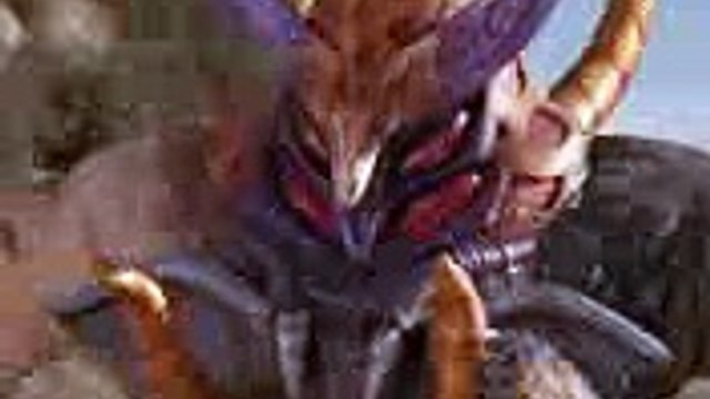 Power Rangers Wild Force - The Lone Wolf - Merrick becomes the Lunar Wolf Ranger