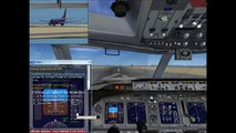 How to take off flight FSX (boeing 737-800) with commentary & button