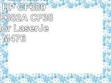 Bubprint 4 Toner kompatibel für HP CF380X CF381A CF382A CF383A SET Color LaserJet MFP