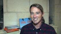 Alex Caizergues, recordman mondial de vitesse en kitesurf et auteur de Plus vite que le vent
