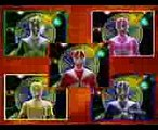 Power Rangers Lightspeed Rescue and Lost Galaxy Teamwork Part 1 - Batlings Fight