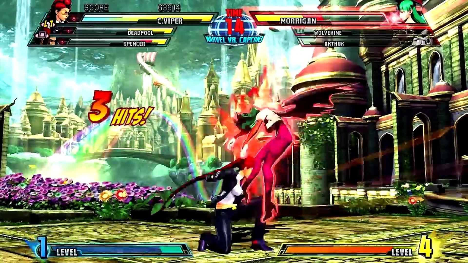 Ultimate Marvel vs Capcom 3 - A Canção do Cisne DA SÉRIE VERSUS