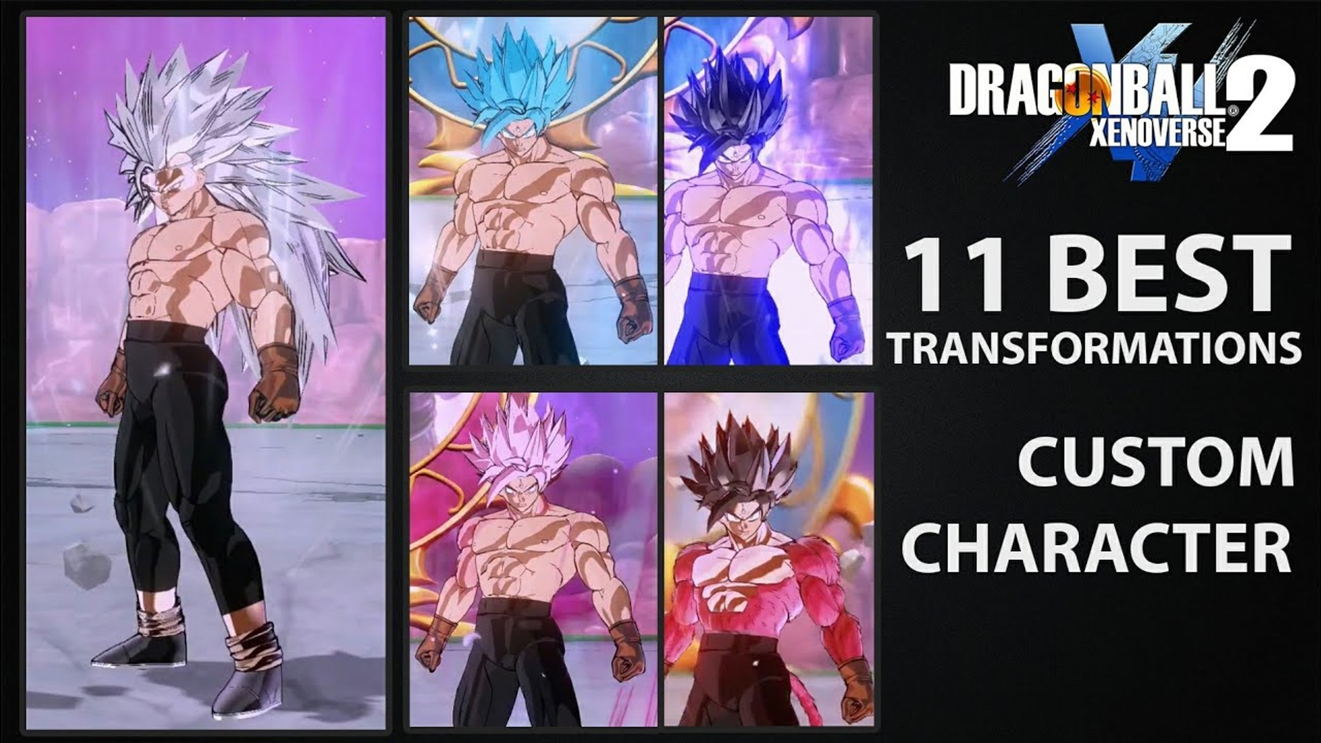Best Transformation Mods For Cac Custom Character Dragon Ball Xenoverse 2 Mods