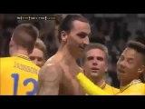 Anniversaire du but de Zlatan Ibrahimovic en retournée acrobatique Kung Fu contre l'Angleterre !