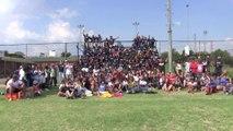 #SemaineLFM : des jeunes du township d'Alexandra initiés au rugby par les élèves du réseau AEFE