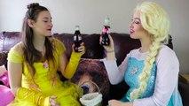 Frozen Elsa & Spiderman vs EVIL WITCH w_ Belle Joker Maleficent Toys Fun Superhero in real life IRL | Superheroes | Spiderman | Superman | Frozen Elsa | Joker