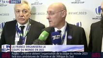 La réaction de Bernard Laporte après le résultat du pays d'accueil de la Coupe du Monde de Rugby de 2023