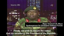 Spokesperson for Zimbabwe Defence Forces denies military coup