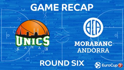7Days EuroCup Highlights Regular Season, Round 6: UNICS 89-80 Andorra