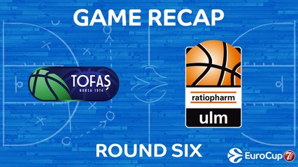 7Days EuroCup Highlights Regular Season, Round 6: Tofas 100-84 Ulm