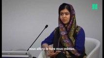 """Malala à Davos :  """"Nous n'allons pas demander aux hommes de changer le monde. Nous allons le faire nous-même"""""""