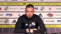 """Emmanuel Bourgaud  - Amiens SC - Angers SC0  """" mettre les concurrents direct à distance """""""