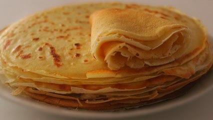Recette de Crêpes sans farine, sans sucre, sans beurre !