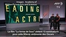 Cinéma : les nominations aux Oscars