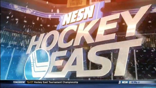 Boston College vs. Boston University - 2017 Hockey East Semifinal Highlights