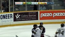 OHL Max Jones Ejected After Vicious Hit on Justin Brack