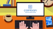 New ICO COINLOAN Innovative Lending Platform Crypto Assets. Smart Contract ERC20.