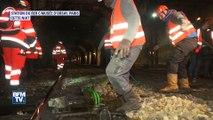 Comment la SNCF protège les lignes de RER de la crue de la Seine