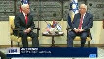 Mike Pence se recueille au Mur des lamentations avant son départ