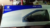 peugeot 206 orjinal cam rüzgarlığı   Peugeot 206 Deflectors