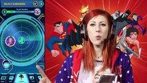 Lets Play JUSTICE LEAGUE ACTION RUN with Batman, Wonder Woman & Firestorm Justice League Heros