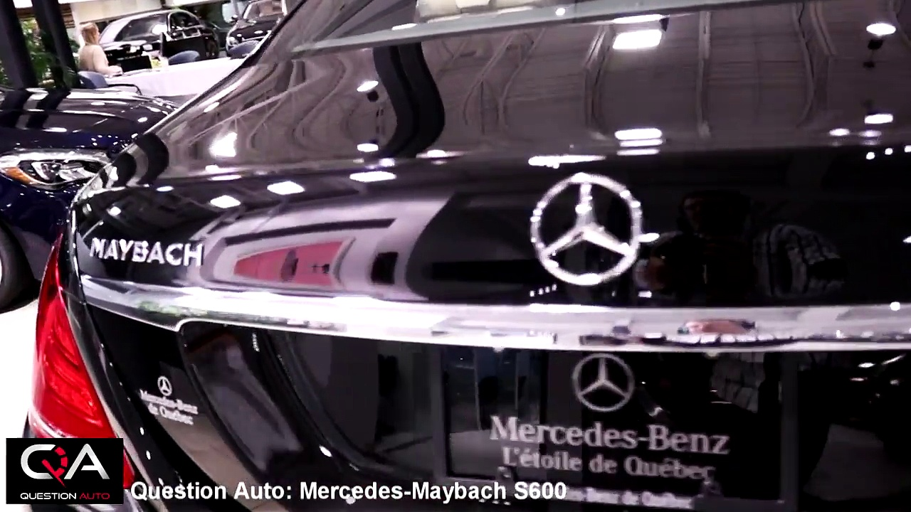 2017 Mercedes-Maybach S600 | Mercedes-Benz