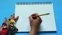 How to Draw Miraculous LADYBUG and CAT NOIR Charers Step By Step Tutorial | Toy Caboodle