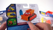 NEW BOB THE BUILDER DIE CAST TOY VEHICLES MIGHTY MACHINES SCOOP MUCK TWO TONNE DIZZY