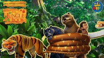 Mowgli, Baloo, Bagheera and Kaa - Meet them in The Jungle Book!