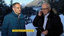"""Jean-Pascal Tricoire, PDG de Schneider Electric """"Davos n'est pas un endroit où on ne parle que d'économie entre élites"""""""