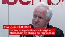 Assises du Vivre Ensemble 2018. François DUFOUR, ancien vice-président de la région Normandie en charge de l'agriculture, agriculteur retraité