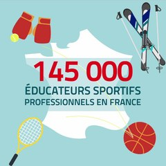 CARTE EDUCATEUR SPORTIF FORMAT CARRE