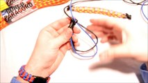 How to Make a Modified Half Hitch Paracord Survival Bracelet - BoredParacord
