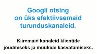 google reklaam _ google turundus _ google reklaamid