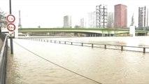 Crue de la Seine : à Paris, les voies sur Berges ont disparu